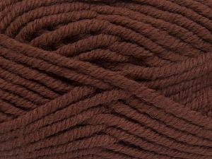 Contenido de fibra 50% Acrílico, 50% Lana, Brand Ice Yarns, Brown, Yarn Thickness 6 SuperBulky Bulky, Roving, fnt2-65622
