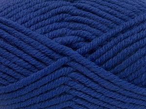 Contenido de fibra 50% Acrílico, 50% Lana, Purple, Brand Ice Yarns, Yarn Thickness 6 SuperBulky Bulky, Roving, fnt2-65623