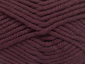 Contenido de fibra 50% Acrílico, 50% Lana, Rose Brown, Brand Ice Yarns, Yarn Thickness 6 SuperBulky Bulky, Roving, fnt2-65624