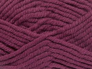 Contenido de fibra 50% Acrílico, 50% Lana, Brand Ice Yarns, Fuchsia, Yarn Thickness 6 SuperBulky Bulky, Roving, fnt2-65625