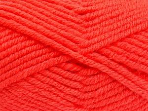 Contenido de fibra 50% Acrílico, 50% Lana, Brand Ice Yarns, Dark Salmon, Yarn Thickness 6 SuperBulky Bulky, Roving, fnt2-65631