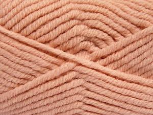 Fiber Content 50% Wool, 50% Acrylic, Light Salmon, Brand Ice Yarns, fnt2-65637