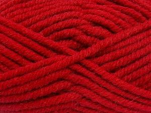 Contenido de fibra 50% Acrílico, 50% Lana, Red, Brand Ice Yarns, Yarn Thickness 6 SuperBulky Bulky, Roving, fnt2-65638