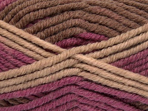 Fiber Content 50% Wool, 50% Acrylic, Purple, Brand Ice Yarns, Brown Shades, fnt2-65643