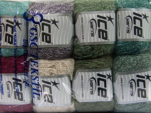 Mixed Lot, Brand Ice Yarns, fnt2-65646