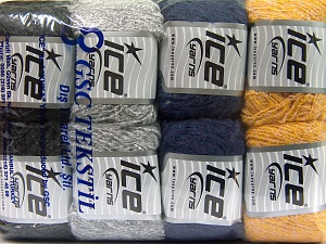 Mixed Lot, Brand Ice Yarns, fnt2-65649