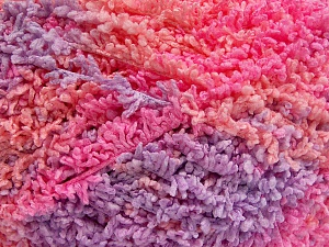 Fiber Content 100% Micro Polyester, Light Salmon, Light Pink, Light Lilac, Brand Ice Yarns, Yarn Thickness 5 Bulky  Chunky, Craft, Rug, fnt2-65683