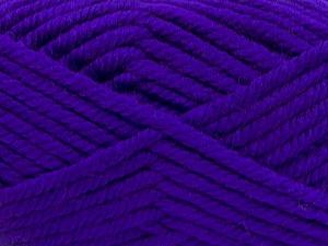 Fiber Content 75% Acrylic, 25% Superwash Wool, Purple, Brand Ice Yarns, Yarn Thickness 6 SuperBulky Bulky, Roving, fnt2-65688