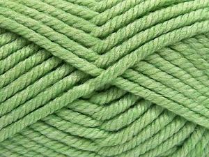Fiber Content 75% Acrylic, 25% Superwash Wool, Light Green, Brand Ice Yarns, Yarn Thickness 6 SuperBulky Bulky, Roving, fnt2-65695