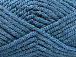 Fiber Content 75% Acrylic, 25% Superwash Wool, Light Jeans Blue, Brand Ice Yarns, Yarn Thickness 6 SuperBulky  Bulky, Roving, fnt2-65700