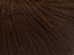 Fiber Content 40% Merino Wool, 40% Acrylic, 20% Polyamide, Brand Ice Yarns, Dark Brown, Yarn Thickness 3 Light DK, Light, Worsted, fnt2-65728