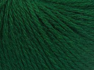 Fiber Content 40% Merino Wool, 40% Acrylic, 20% Polyamide, Brand Ice Yarns, Emerald Green, Yarn Thickness 3 Light DK, Light, Worsted, fnt2-65731