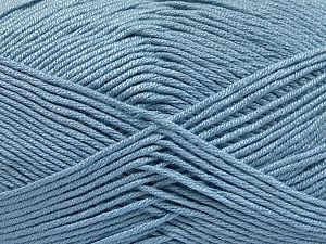 Fiber Content 50% Acrylic, 50% Bamboo, Light Blue, Brand Ice Yarns, fnt2-65752