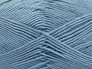 Fiberinnehåll 50% Bambu, 50% Akryl, Light Blue, Brand Ice Yarns, fnt2-65752