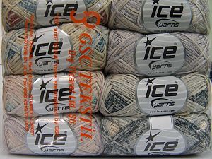 Fiber Content 100% Cotton, Mixed Lot, Brand Ice Yarns, fnt2-65799