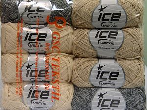 Fiber Content 100% Cotton, Mixed Lot, Brand Ice Yarns, Yarn Thickness 3 Light  DK, Light, Worsted, fnt2-65822