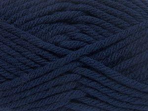 Fiber Content 100% Acrylic, Navy, Brand Ice Yarns, Yarn Thickness 6 SuperBulky Bulky, Roving, fnt2-65833