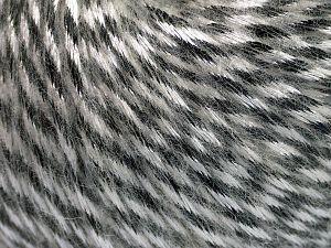 Fiber Content 70% Polyamide, 19% Merino Wool, 11% Acrylic, White, Brand Ice Yarns, Black, Yarn Thickness 4 Medium Worsted, Afghan, Aran, fnt2-65894