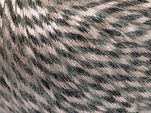Fiber Content 70% Polyamide, 19% Merino Wool, 11% Acrylic, Brand Ice Yarns, Black, Beige, Yarn Thickness 4 Medium Worsted, Afghan, Aran, fnt2-65895