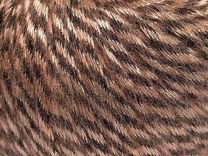 Fiber Content 70% Polyamide, 19% Merino Wool, 11% Acrylic, Light Salmon, Brand Ice Yarns, Brown, Yarn Thickness 4 Medium Worsted, Afghan, Aran, fnt2-65896