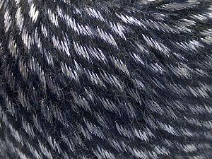 Fiber Content 70% Polyamide, 19% Merino Wool, 11% Acrylic, Silver, Purple, Brand Ice Yarns, Yarn Thickness 4 Medium Worsted, Afghan, Aran, fnt2-65897