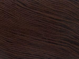 Fiber Content 100% Premium Acrylic, Brand Ice Yarns, Dark Brown, Yarn Thickness 3 Light DK, Light, Worsted, fnt2-65904