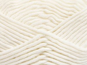 Fiber Content 50% Acrylic, 50% Merino Wool, White, Brand Ice Yarns, Yarn Thickness 5 Bulky Chunky, Craft, Rug, fnt2-65938