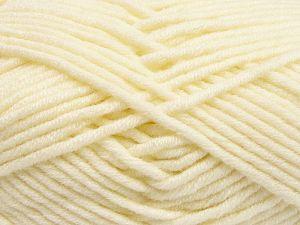 Fiber Content 50% Merino Wool, 50% Acrylic, Brand Ice Yarns, Cream, Yarn Thickness 5 Bulky Chunky, Craft, Rug, fnt2-65944