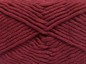 Fiber Content 50% Acrylic, 50% Merino Wool, Light Burgundy, Brand Ice Yarns, Yarn Thickness 5 Bulky Chunky, Craft, Rug, fnt2-65963