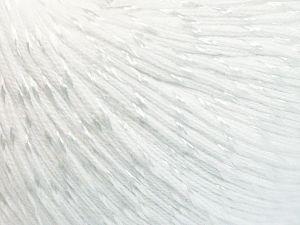 Fiber Content 70% Mercerised Cotton, 30% Viscose, White, Brand Ice Yarns, Yarn Thickness 2 Fine Sport, Baby, fnt2-65982