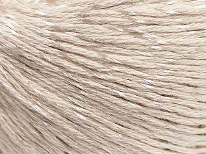 Fiber Content 70% Mercerised Cotton, 30% Viscose, Light Beige, Brand Ice Yarns, Yarn Thickness 2 Fine Sport, Baby, fnt2-65986