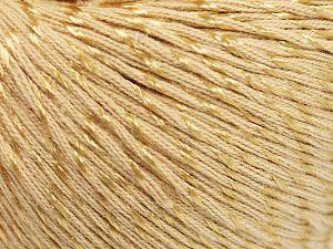Fiber Content 70% Mercerised Cotton, 30% Viscose, Brand Ice Yarns, Dark Cream, Yarn Thickness 2 Fine Sport, Baby, fnt2-65987