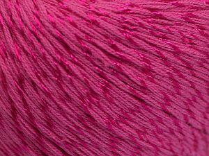 Fiber Content 70% Mercerised Cotton, 30% Viscose, Brand Ice Yarns, Candy Pink, Yarn Thickness 2 Fine Sport, Baby, fnt2-65992