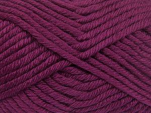 Fiber Content 100% Acrylic, Brand Ice Yarns, Burgundy, Yarn Thickness 6 SuperBulky Bulky, Roving, fnt2-66038