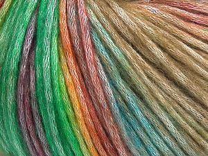 Fiber Content 50% Modal, 35% Acrylic, 15% Wool, Purple, Brand Ice Yarns, Green, Gold Shades, Camel, Yarn Thickness 4 Medium Worsted, Afghan, Aran, fnt2-66044