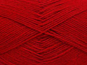 Contenido de fibra 60% Lana Merino, 40% Acrílico, Red, Brand Ice Yarns, Yarn Thickness 2 Fine Sport, Baby, fnt2-66049