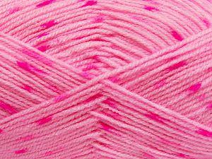 Fiber Content 100% Acrylic, Pink Shades, Brand Ice Yarns, Yarn Thickness 2 Fine Sport, Baby, fnt2-66058