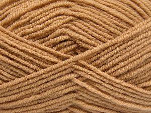 Contenido de fibra 60% Lana Merino, 40% Acrílico, Brand Ice Yarns, Dark Cream, Yarn Thickness 3 Light DK, Light, Worsted, fnt2-66077