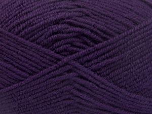 Contenido de fibra 60% Lana Merino, 40% Acrílico, Purple, Brand Ice Yarns, Yarn Thickness 3 Light DK, Light, Worsted, fnt2-66086
