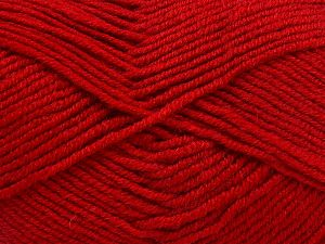 Contenido de fibra 60% Lana Merino, 40% Acrílico, Red, Brand Ice Yarns, Yarn Thickness 3 Light DK, Light, Worsted, fnt2-66087