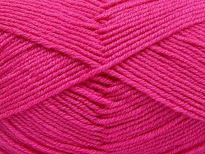 Contenido de fibra 60% Lana Merino, 40% Acrílico, Brand Ice Yarns, Candy Pink, Yarn Thickness 3 Light DK, Light, Worsted, fnt2-66090