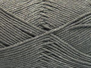 Fiber Content 50% Cotton, 50% Acrylic, Light Grey, Brand Ice Yarns, Yarn Thickness 2 Fine Sport, Baby, fnt2-66098