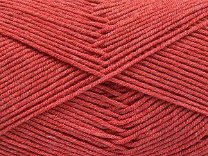Fiber Content 50% Cotton, 50% Acrylic, Salmon, Brand Ice Yarns, Yarn Thickness 2 Fine Sport, Baby, fnt2-66108