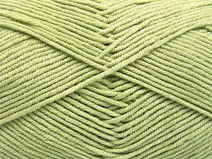 Fiber Content 50% Cotton, 50% Acrylic, Light Green, Brand Ice Yarns, Yarn Thickness 2 Fine Sport, Baby, fnt2-66118