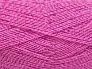 Very thin yarn. It is spinned as two threads. So you will knit as two threads. Yardage information is for only one strand. Fiber Content 100% Acrylic, Light Lilac, Brand Ice Yarns, Yarn Thickness 1 SuperFine Sock, Fingering, Baby, fnt2-66164