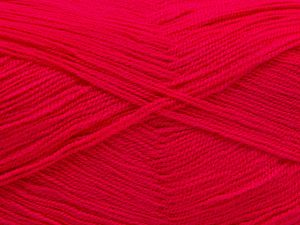 Very thin yarn. It is spinned as two threads. So you will knit as two threads. Yardage information is for only one strand. Fiber Content 100% Acrylic, Brand Ice Yarns, Gipsy Pink, Yarn Thickness 1 SuperFine Sock, Fingering, Baby, fnt2-66168