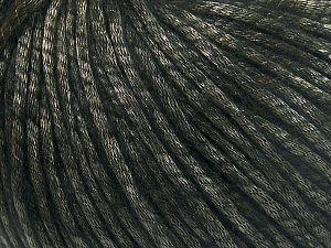 Fiber Content 67% Tencel, 33% Polyamide, Brand Ice Yarns, Black, Yarn Thickness 4 Medium Worsted, Afghan, Aran, fnt2-66187