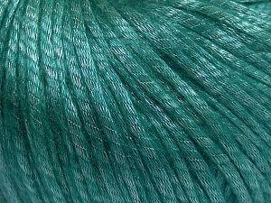 Fiber Content 67% Tencel, 33% Polyamide, Brand Ice Yarns, Emerald Green, Yarn Thickness 4 Medium Worsted, Afghan, Aran, fnt2-66201