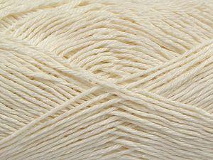 Fiber Content 100% Mercerised Cotton, Brand Ice Yarns, Ecru, Yarn Thickness 2 Fine Sport, Baby, fnt2-66559