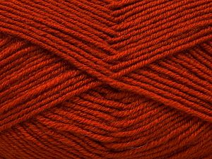Contenido de fibra 60% Lana Merino, 40% Acrílico, Terra Cotta, Brand Ice Yarns, Yarn Thickness 3 Light DK, Light, Worsted, fnt2-66566